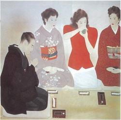 """El arte de apreciar el incienso, o Koh-do, se practica en grupo. Durante la ceremonia, varias personas se pasan un quemador para """"escuchar"""" el aroma y transportarse a otro estado emocional."""